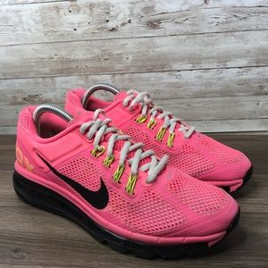 Nike Air Max Digital Pink Sneaker Size 7Y